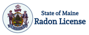 Our local radon mitigation contractor is certified in the state of Maine